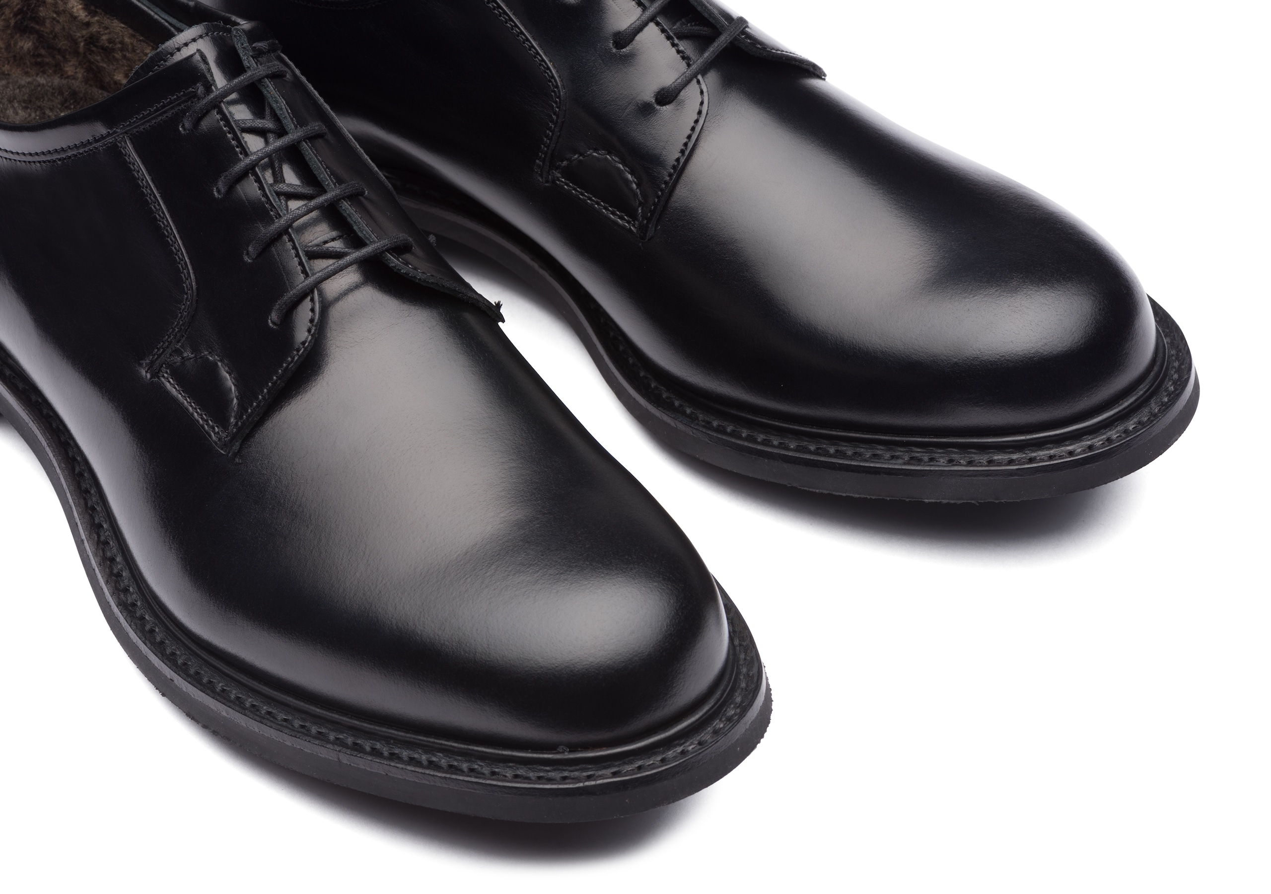 Newbridge 2 fur Church's Calf Leather Derby Black