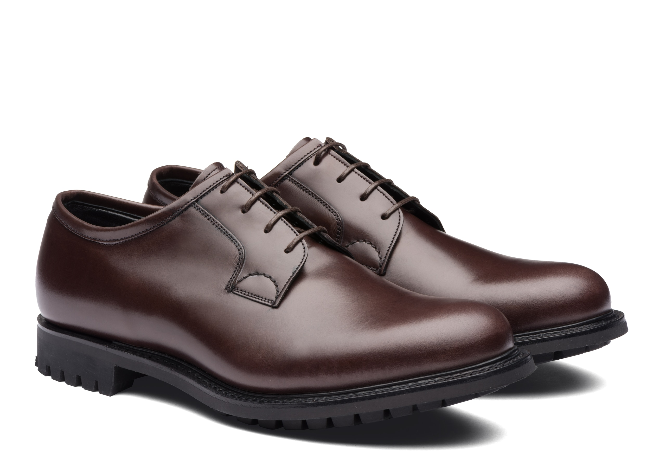 Newbridge 2 fur Church's Calf Leather Derby Brown
