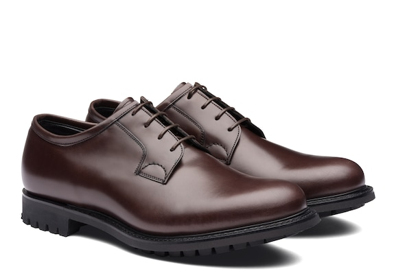 Church's  Calf Leather Derby Ebony