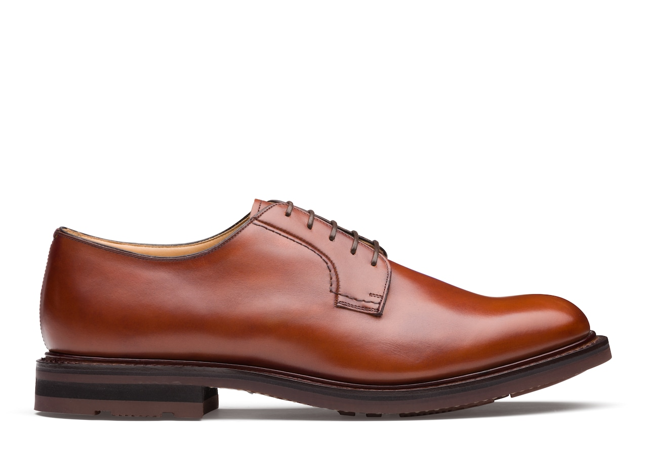 Woodbridge Church's Calf Leather Derby Brown