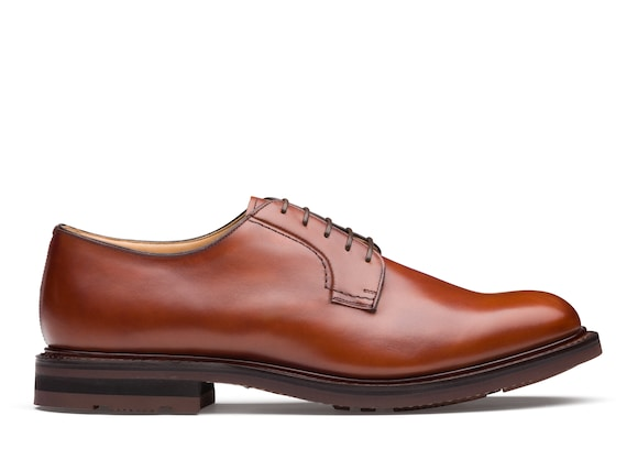 Church's Woodbridge Calf Leather Derby Brandy