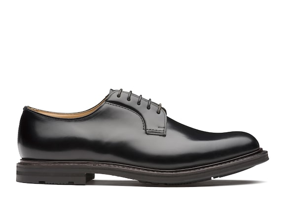 Church's Woodbridge Calf Leather Derby Black