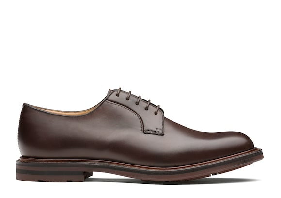 Church's Woodbridge Nevada Leather Derby Ebony