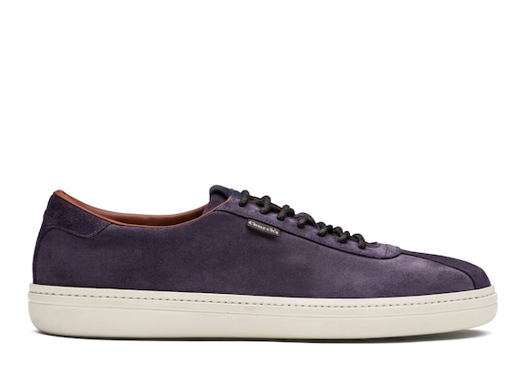 Church's true Sneaker in Pelle Scamosciata Cerata Blu