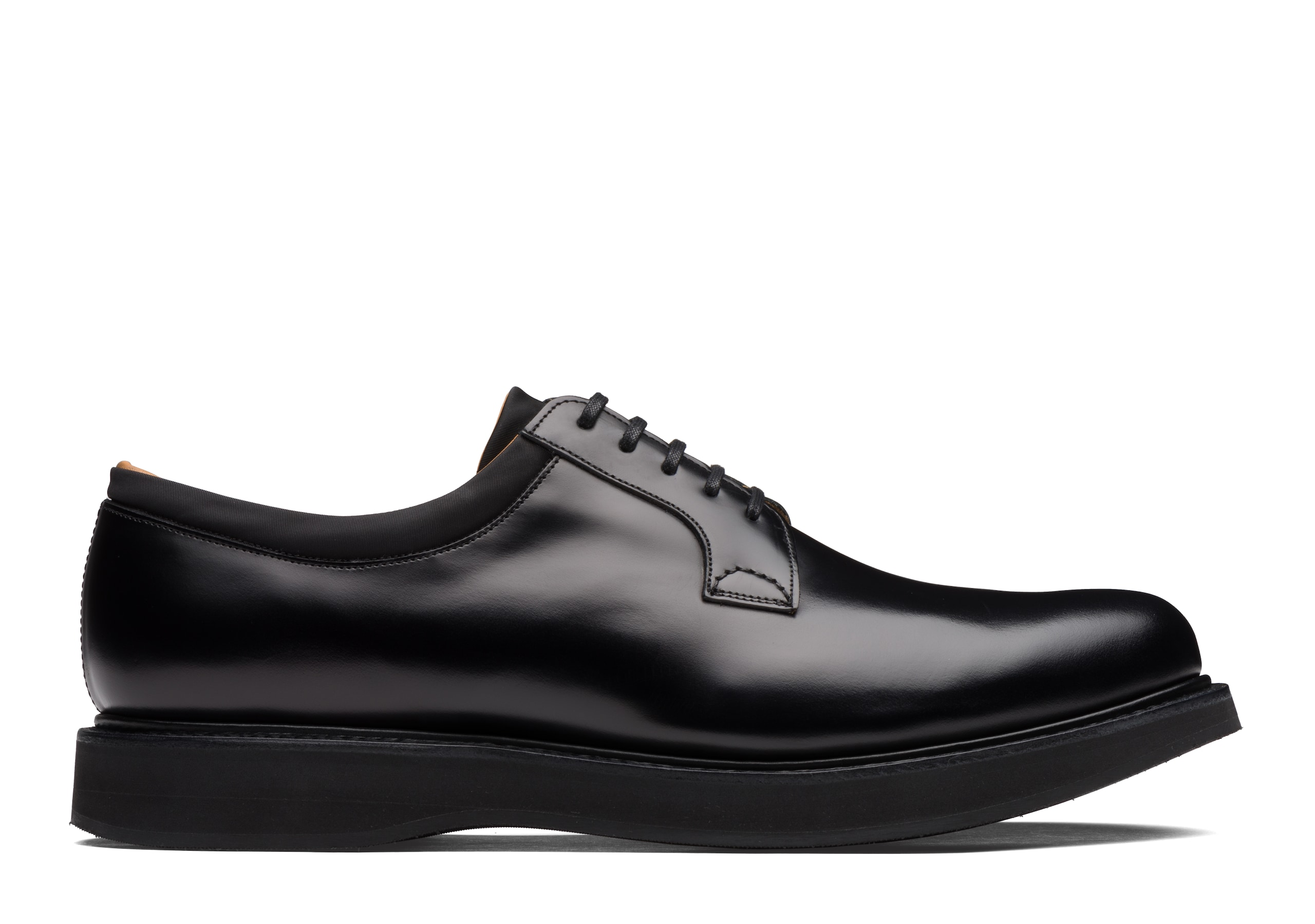 Brandon Church's Rois Calf Leather Derby Black
