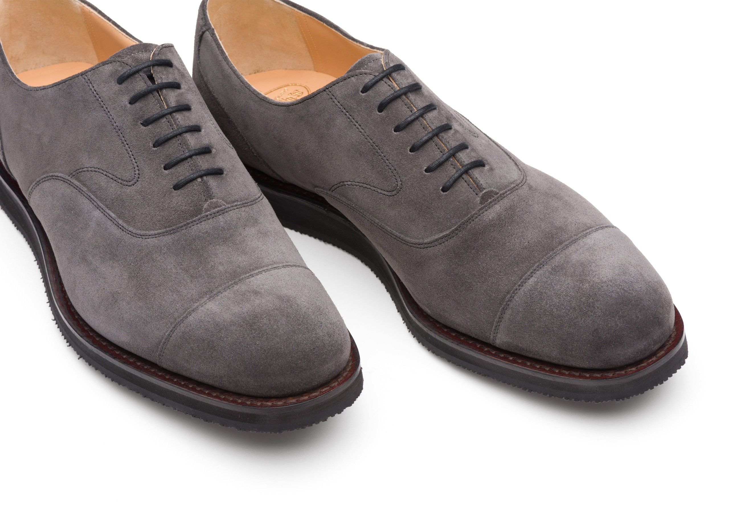 Lancaster we Church's Suede Oxford Grey