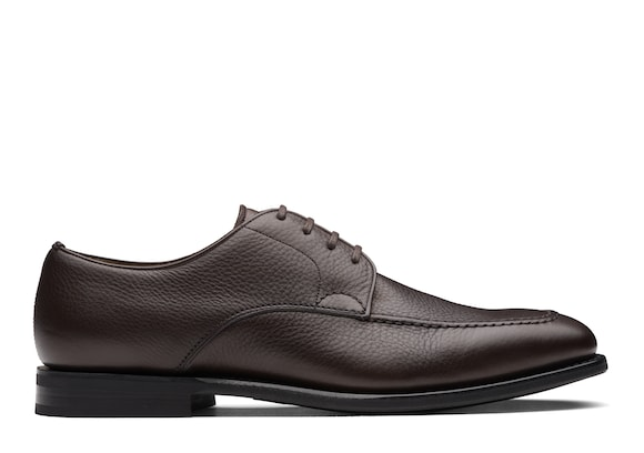 Church's true Derby in Pelle Soft Grain Marrone