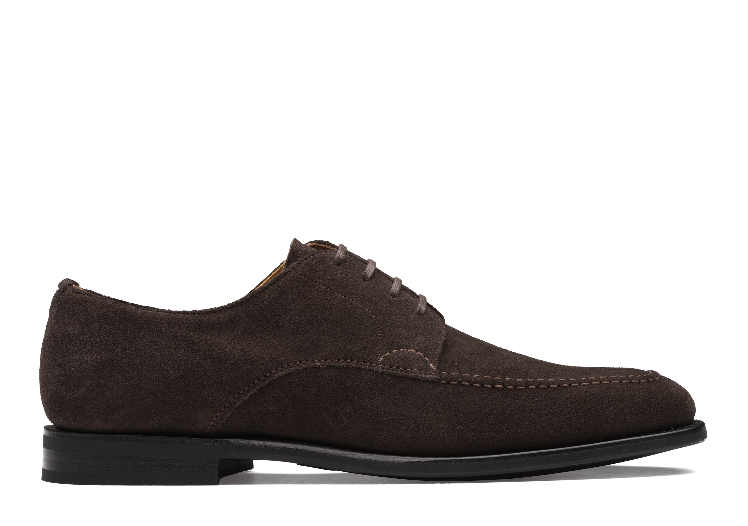 Chackmore Church's Suede Derby Brown