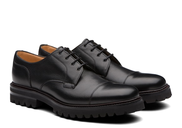 Church's Elkstone Soft Grain Leather Derby Black
