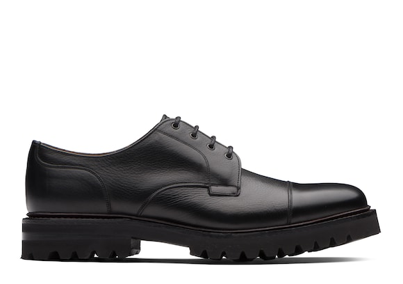 Church's true Soft Grain Leather Derby Black