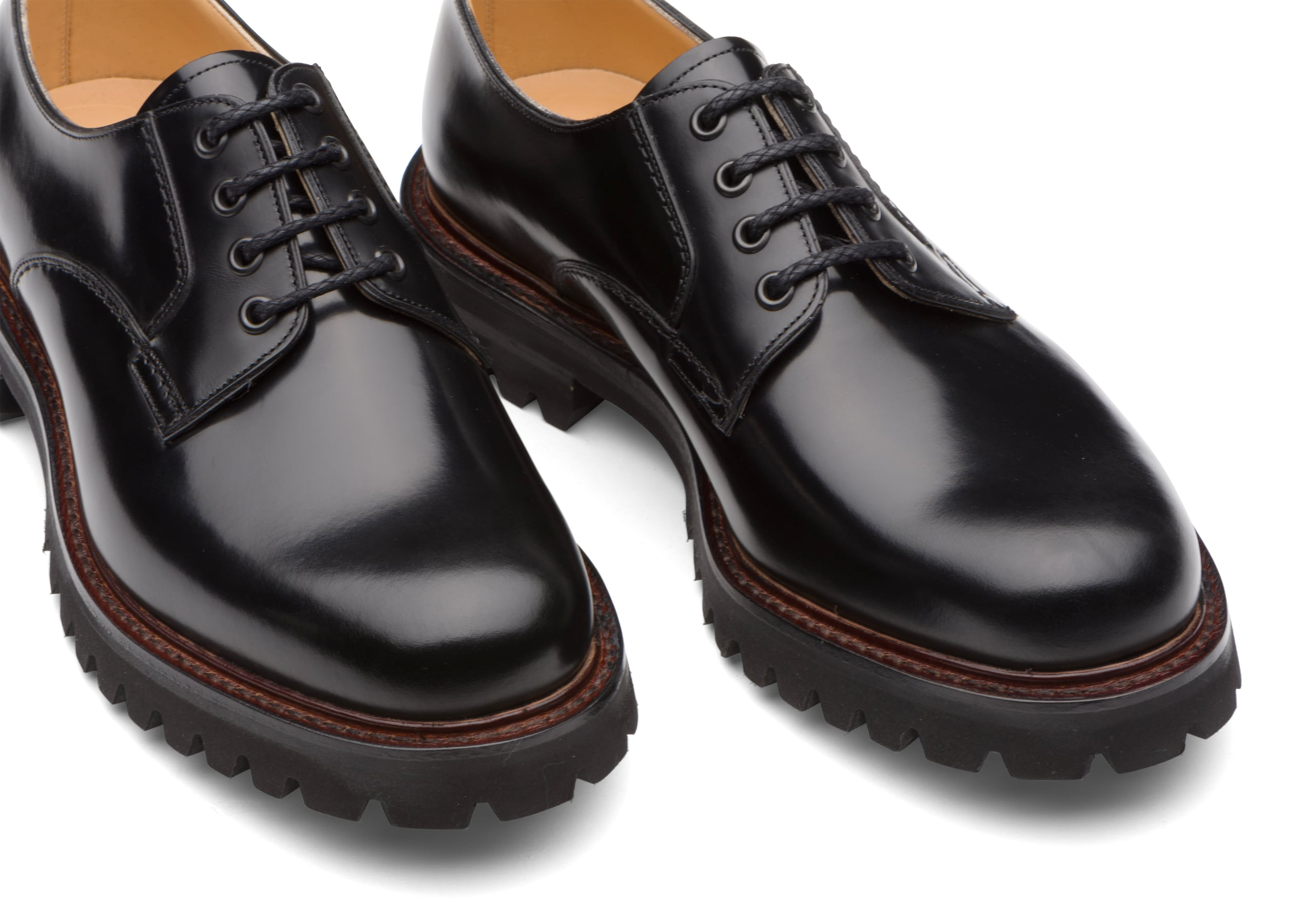 Chester 2 Church's Polished Binder Lace-Up Derby Black