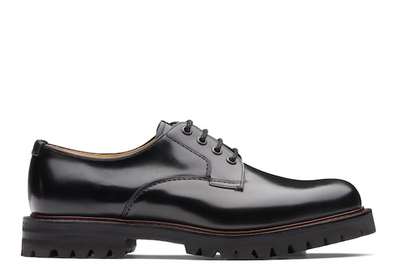 Church's  Polished Binder Lace-Up Derby Black