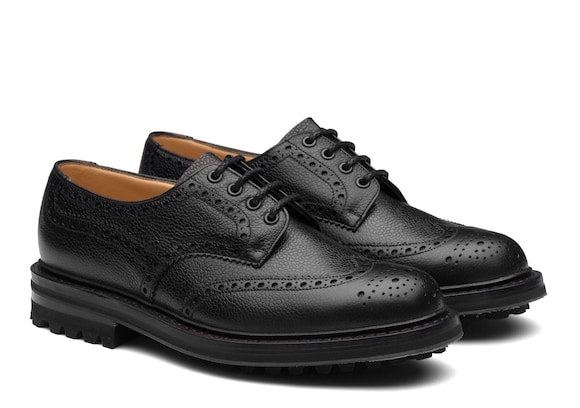 Church's Mc pherson lw Highland Grain Derby Brogue Black