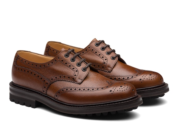 Church's Mc pherson lw Highland Grain Derby Brogue Walnut