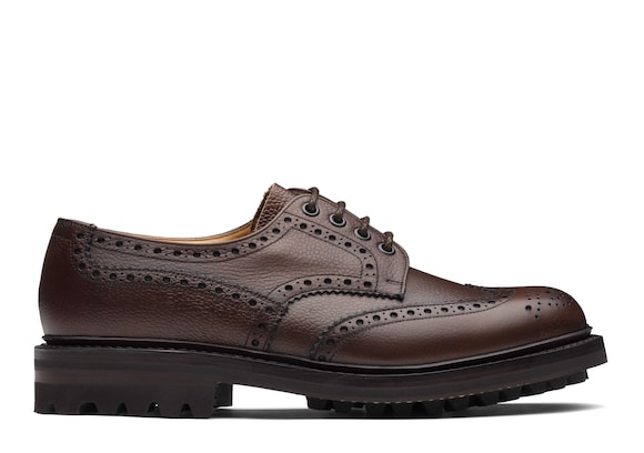 Church's Mc pherson lw Highland Grain Derby Brogue Ebony