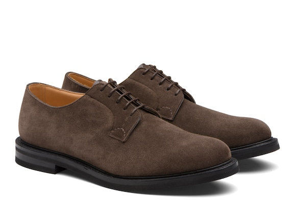 Church's Shannon lw Suede Derby Brown