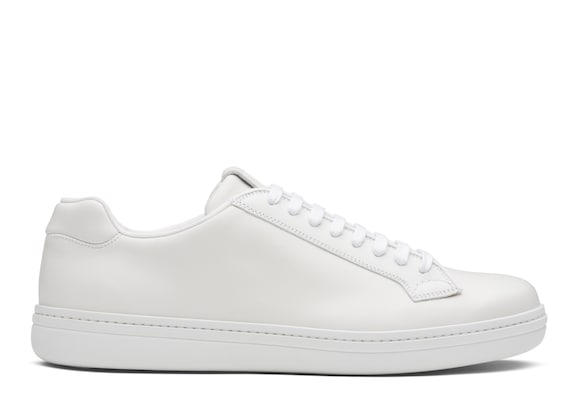 Church's true Sneaker Classica in Pelle di Vitello Bianco