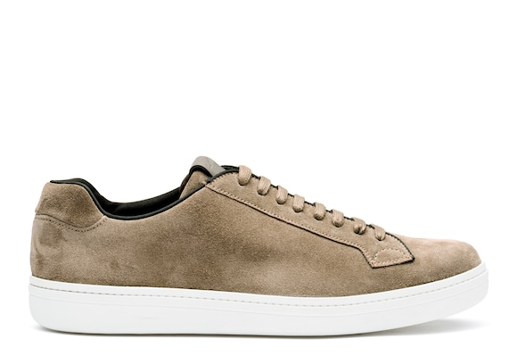 Church's true Sneaker Classica in Pelle Scamosciata Sabbia
