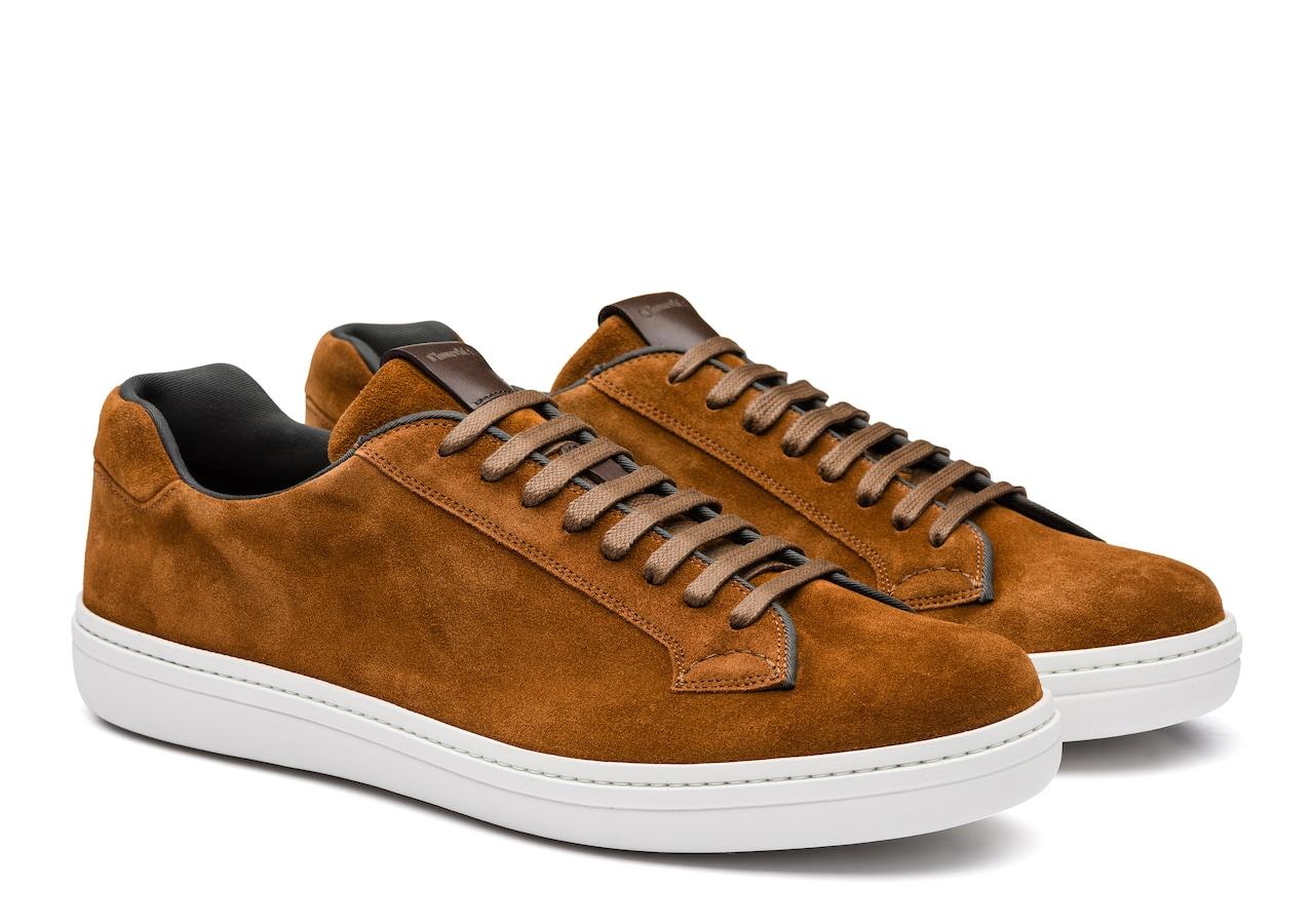 fd6b1e4e21fc96 Mirfield Suede Classic Sneaker Brown Church s - 3074457345617032040