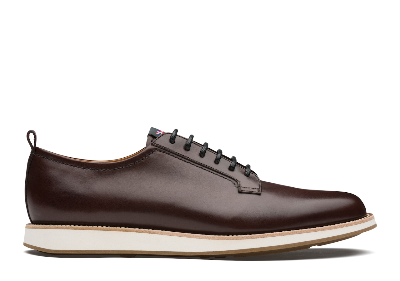 Watford Church's Nevada Leather Derby Brown
