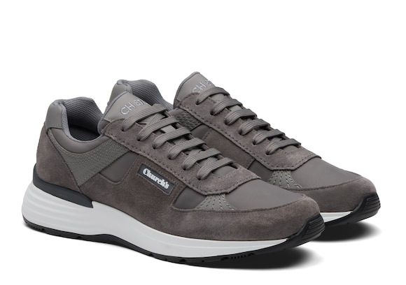 Church's  Suede Tech Retro Sneaker Grey