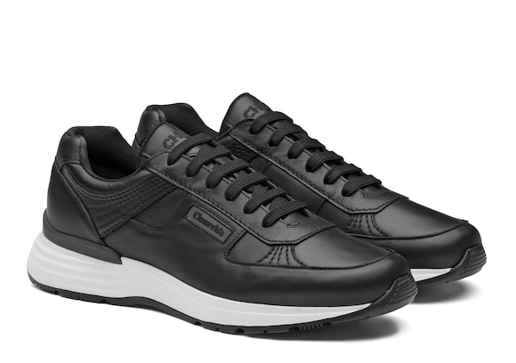 Church's  Plume Calf Leather Retro Sneaker Black