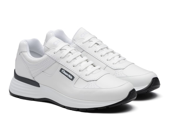 Church's true Plume Calf Leather Retro Sneaker White