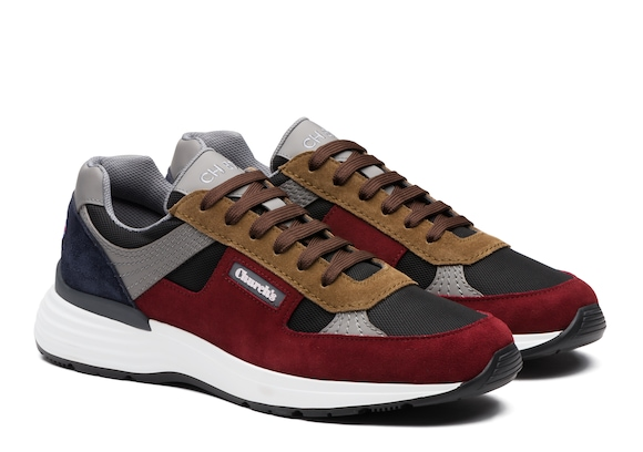 Church's  Suede &  Mesh Retro Sneaker Multicolor