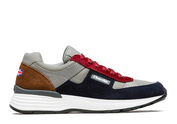 Church's Ch873 Suede &  Mesh Retro Sneaker