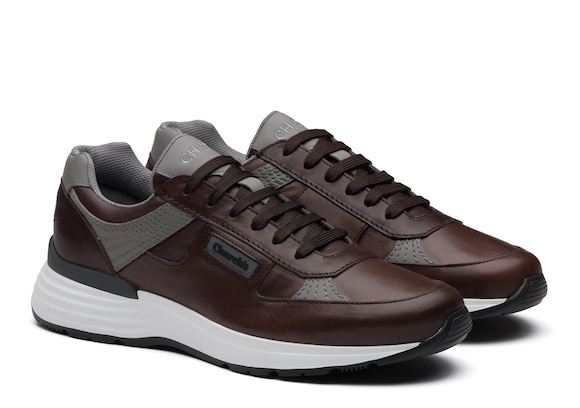 Church's  Vintage Calf Leather Retro Sneaker Brown