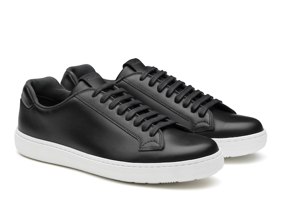 Church's Boland Calf Leather Classic Sneaker Black & white