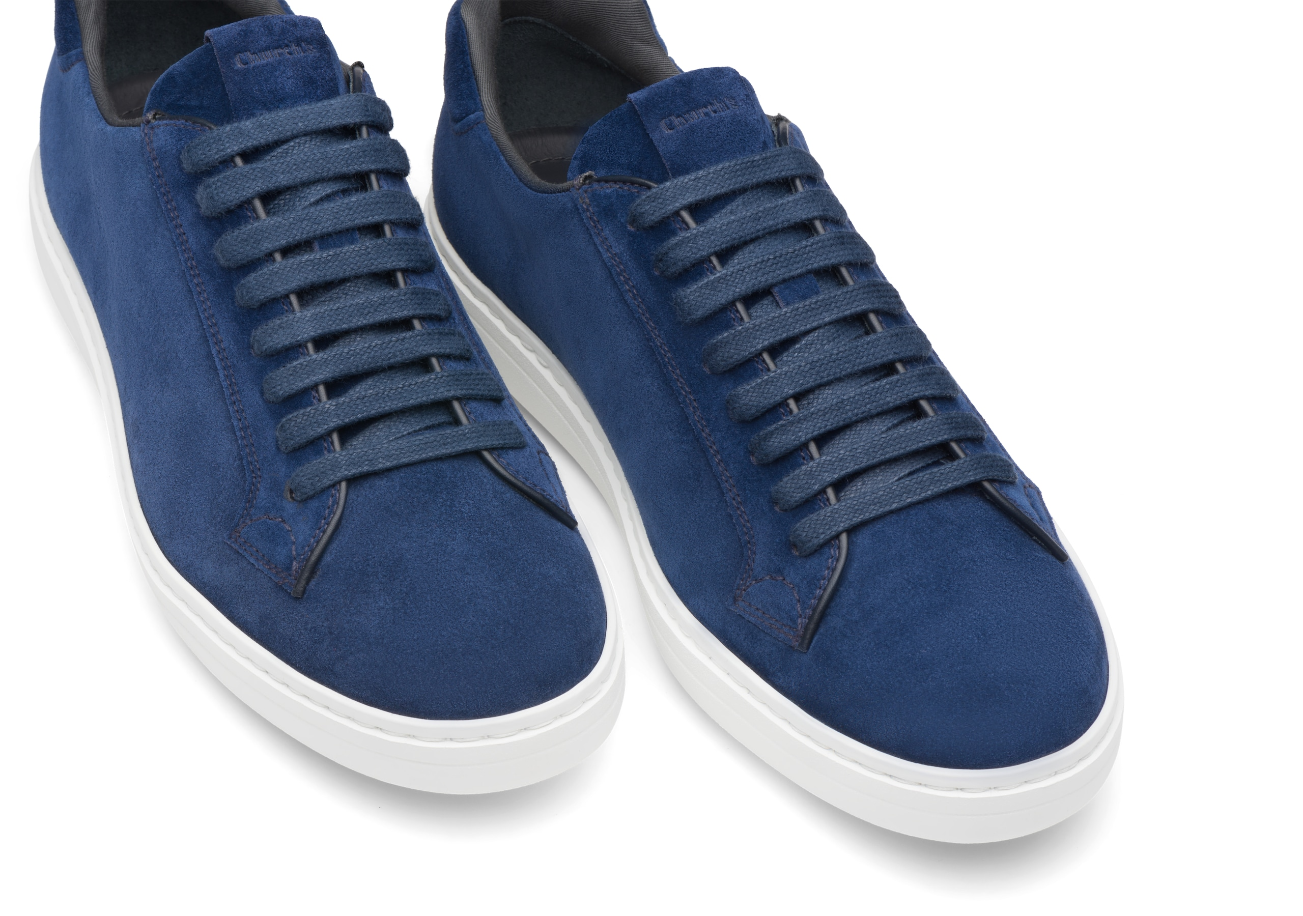 Boland Church's Suede Classic Sneaker Blue