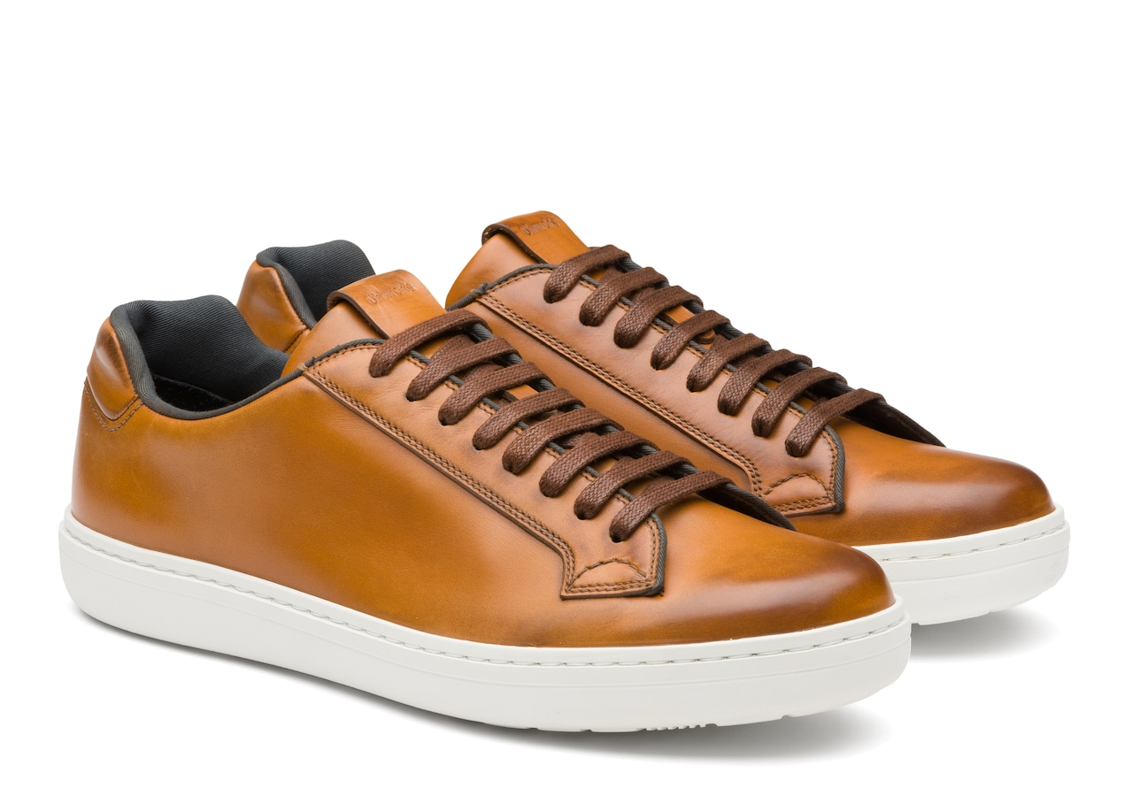 Boland Church's Nevada Leather Classic Sneaker Brown