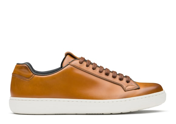 Church's Boland Nevada Leather Classic Sneaker Walnut