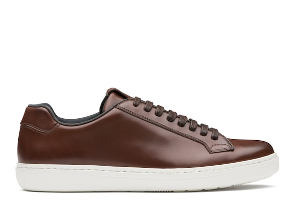 Church's Boland Nevada Leather Classic Sneaker Ebony
