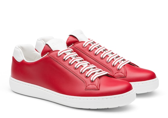 Church's Boland plus Calf Leather Classic Sneaker Red