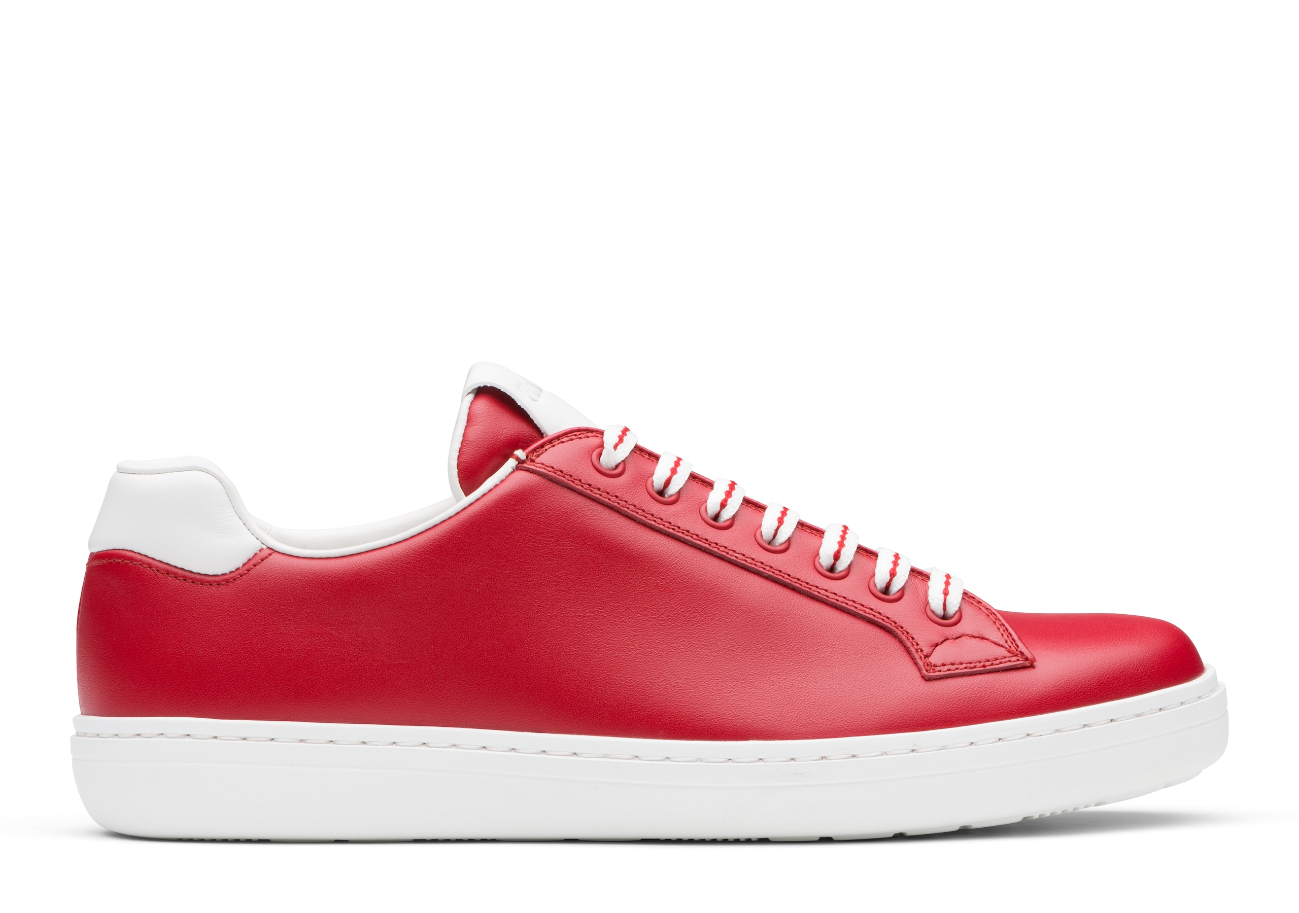 Boland plus Church's Calf Leather Classic Sneaker Red