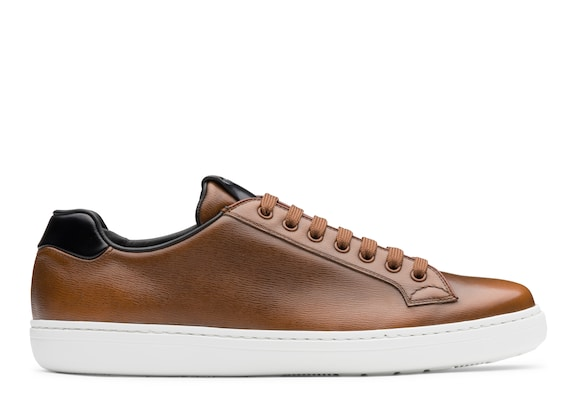 Church's Boland plus 2 St James Leather Classic Sneaker Walnut