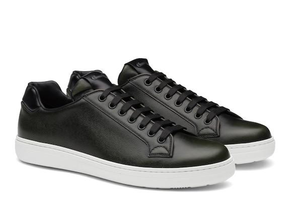 Church's Boland plus 2 St James Leather Classic Sneaker Military