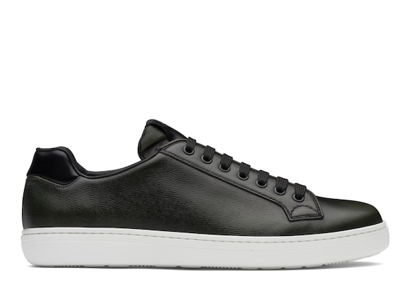 Church's Boland plus Antic Calf Leather Classic Sneaker Military