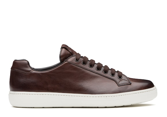Church's Boland plus Vintage Calf Leather Classic Sneaker Brown
