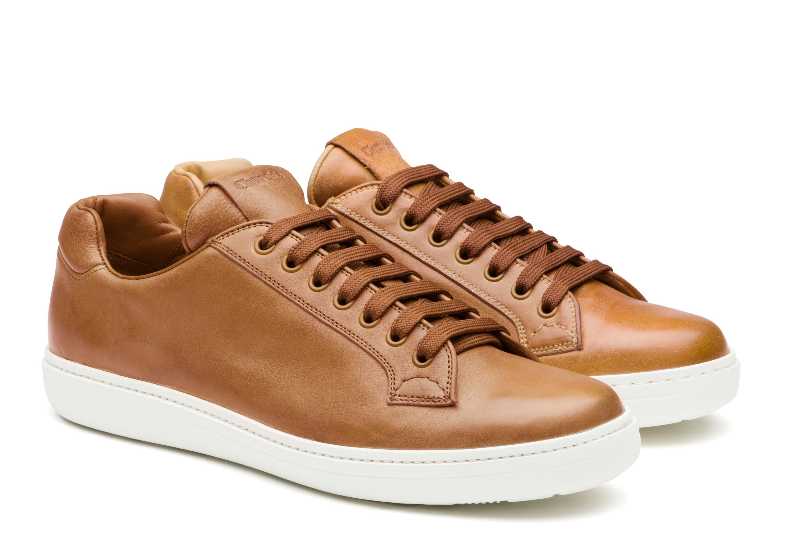 Boland plus Church's Vintage Calf Leather Classic Sneaker Neutral