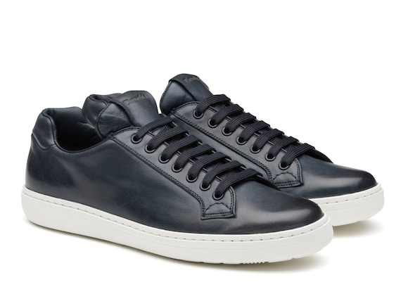 Church's Boland plus 2 Vintage Calf Leather Classic Sneaker Denim