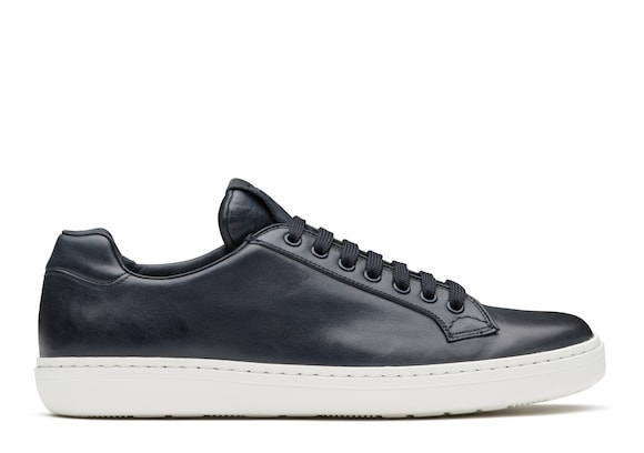 Church's Boland plus Vintage Calf Leather Classic Sneaker Denim