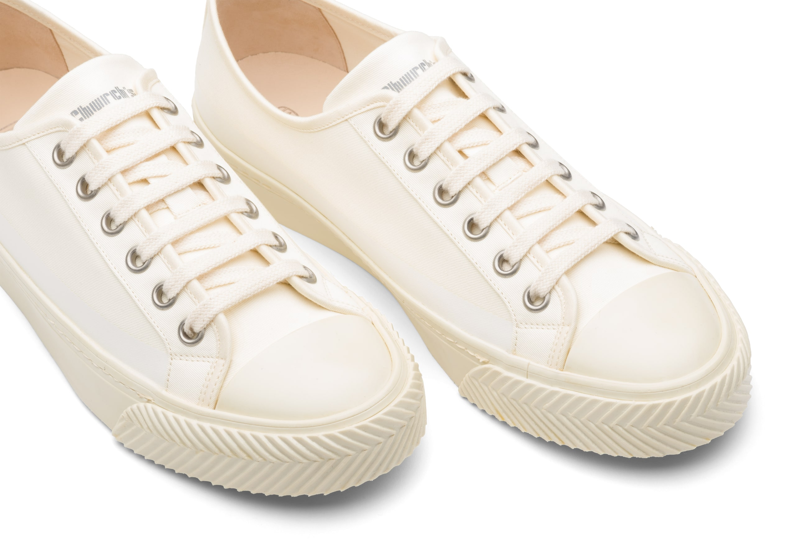 Southbank Church's Gabardine Sneaker Neutral