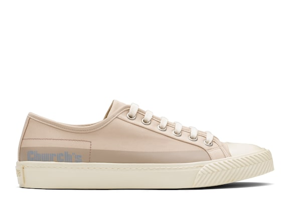Church's  Sneaker stringata in gabardine Rope