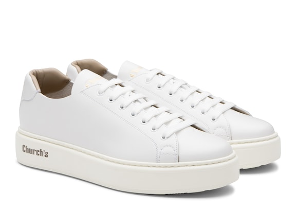 Church's Mach 1 Monteria Calf Classic Sneaker White