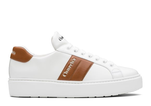 Church's Mach 3 Calf Leather Classic Sneaker White/oak