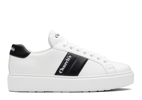 Church's Mach 3 Calf Leather Classic Sneaker White/blue
