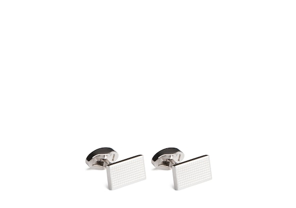 Church's Gatsby cufflink Rhodium Plated Textured
